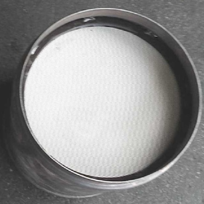 Inside of a clean diesel particulate filter